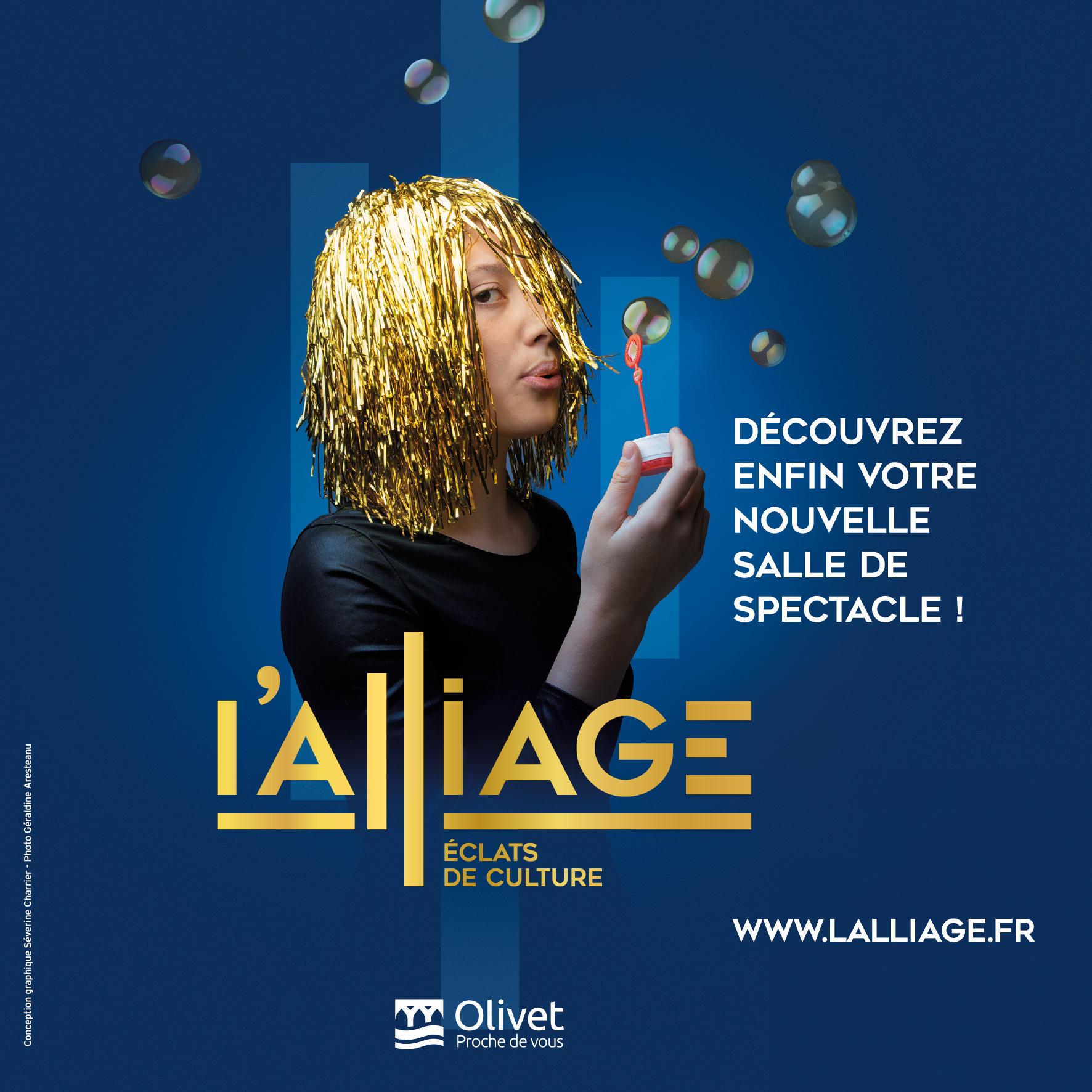 L'Alliage nouvelle salle de spectacle à olivet - Orléans Métropole