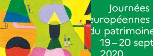 Journées européenne du patrimoine 2020