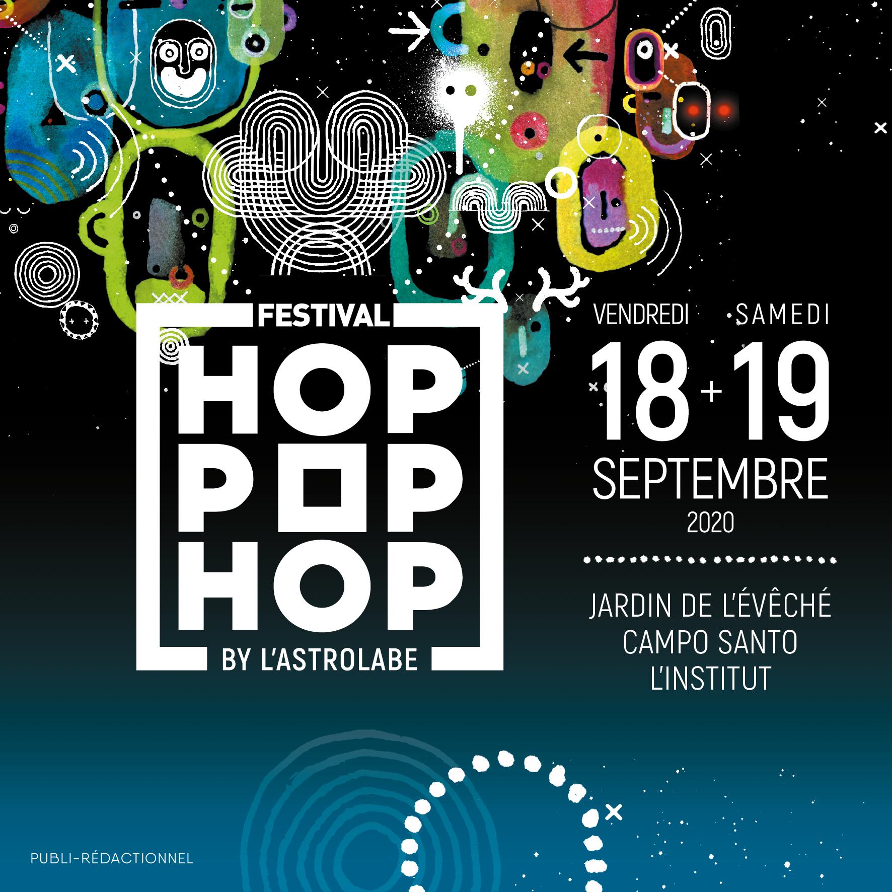 Hop Pop Hop festival musique concert Orléans septembre